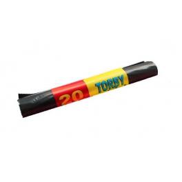 Worki na śmieci LDPE Czarne 60l - 20szt