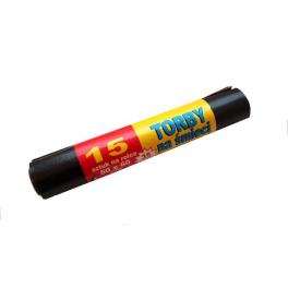 Worki na śmieci LDPE Czarne 35l - 15szt