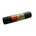 Worki na śmieci LDPE Czarne 120l - 25szt