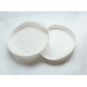 Denko zaślepka plastikowa do tub 80mm białe