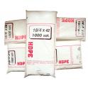 Torebki foliowe HDPE 14/4x32  1000szt