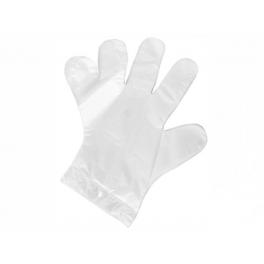 Rękawiczki foliowe HDPE 50 sztuk